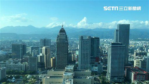 台北101鳥瞰。(圖/記者蔡佩蓉攝影)