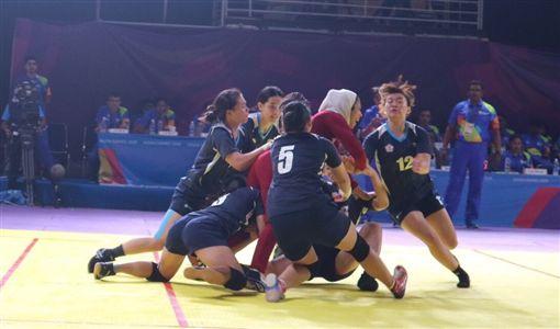 ▲中華女子卡巴迪隊。(圖/卡巴迪協會提供)