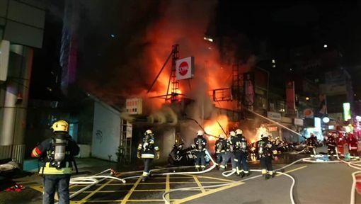 台北,南昌路,火警,早餐店。翻攝畫面