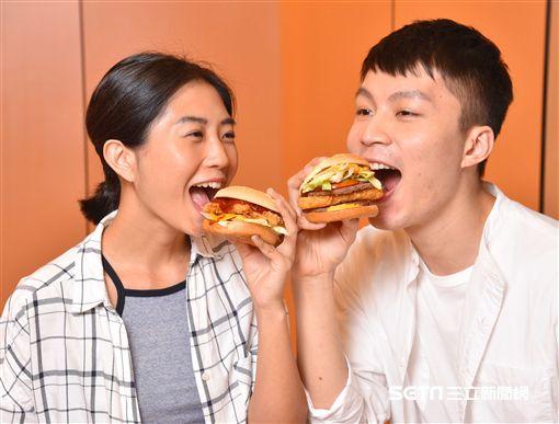 漢堡,麥當勞。(圖/速食店提供)