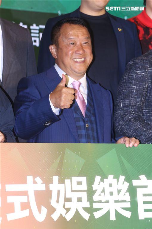 曾志偉表示不受中國限酬令影響,自嘲「我很便宜」。(圖/記者蔡世偉攝影)