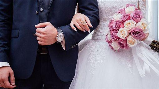 結婚,婚禮,婚紗,高跟鞋 示意圖/翻攝自Pixabay
