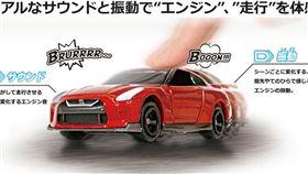 Tomica 4D玩具車。(圖/翻攝Tomica網站)