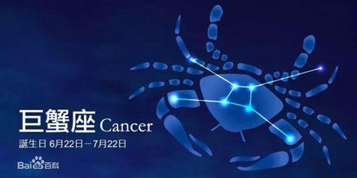 巨蟹座,Cancer(圖/翻攝自百度百科)