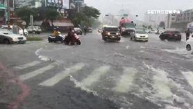 台南淹水慘1200
