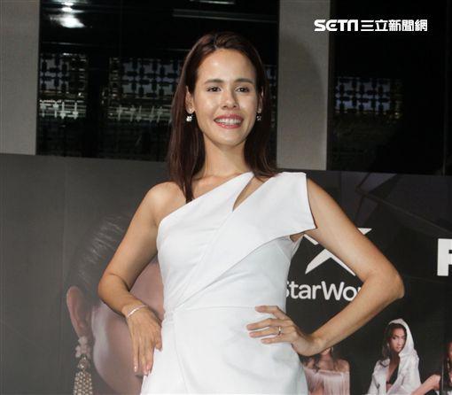 Star World「亞洲超級名模生死鬥」第二季娜塔莉。(記者邱榮吉/攝影)