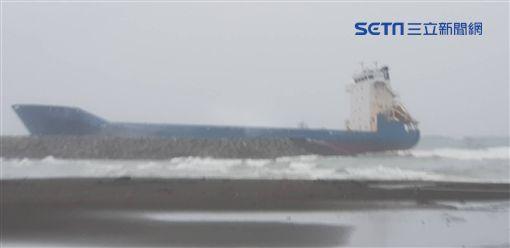 船舶,受困,豪雨,熱帶性低氣壓,高雄,/台灣港務公司提供
