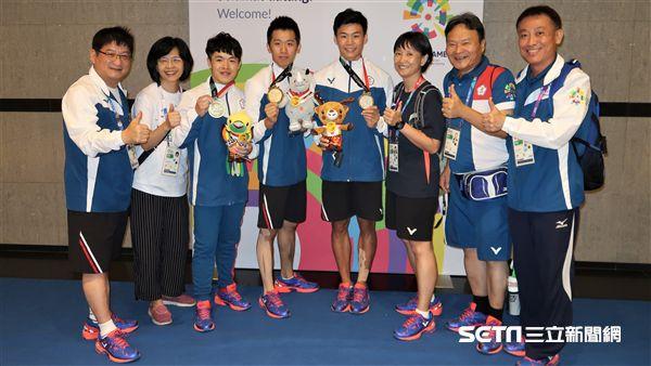 中華體操隊在23日一舉拿下1金1銀1銅。(圖/記者王怡翔攝)