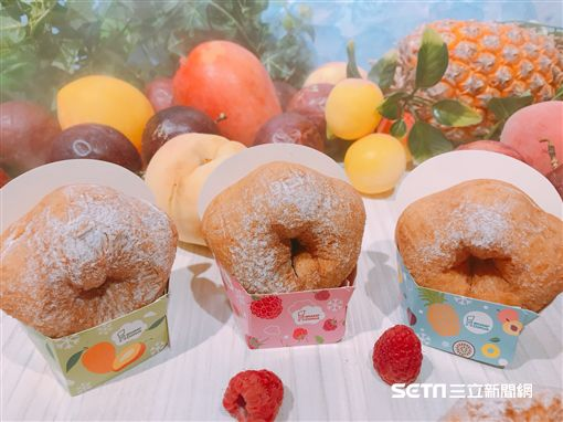 Mister Donut,甜甜圈。(圖/記者馮珮汶攝)