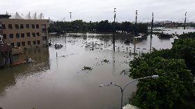 嘉義大雨道路積水(3)