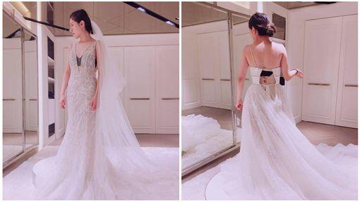 丹妮婊姊穿婚紗/臉書