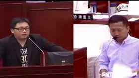 李慶鋒針對財訊報導質詢劉奕霆 截自影片