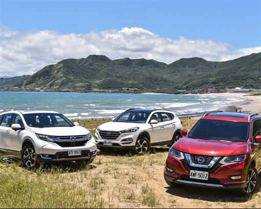 挑戰國產霸主(上) Nissan X-Trail vs. Honda CR-V vs. Hyundai Tucson(圖/車訊網)