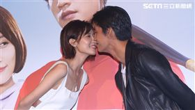 羅宏正與劉宇菁七夕當晚兩人吻了3個小時。(圖/記者蔡世偉攝影)