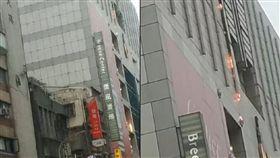 北市復興南路微風廣場傳火警 警消獲報搶救中 圖/翻攝畫面