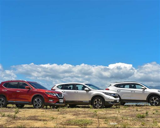 挑戰國產霸主(中) Nissan X-Trail vs. Honda CR-V vs. Hyundai Tucson(圖/車訊網)