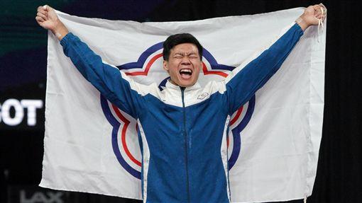 唐嘉鴻拿下體操單槓項目金牌。(圖/中華奧會提供)