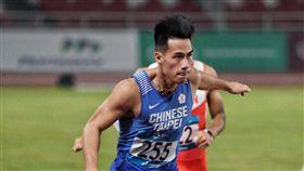 ▲楊俊瀚在100公尺預賽跑出10秒13好成績。(圖/中華奧會提供)