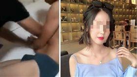 滴滴順風車司機性侵殺害女乘客,裸身遭警方逮捕。(圖/翻攝自微博)