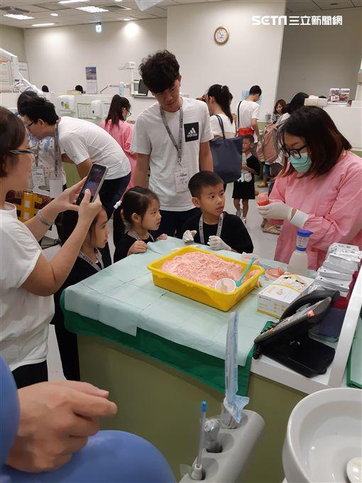 恩主公醫院,護牙聯盟,牙齒,蛀牙,齲齒圖/院方提供
