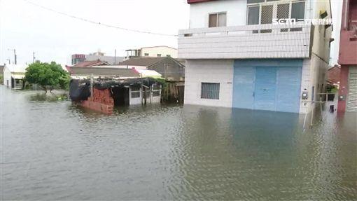 掌潭村港區,嘉義,掌潭村,東石,淹水,港口