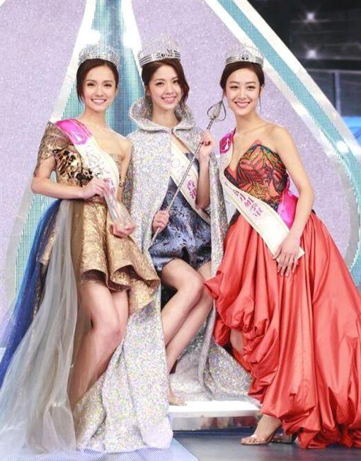 香港小姐競選冠軍陳曉華(翻攝自微博)