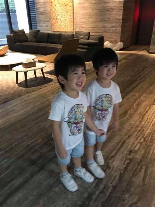 林志穎,Jenson,Kyson(圖/翻攝自臉書)