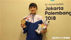 ▲谷筱霜獲得亞運金牌。