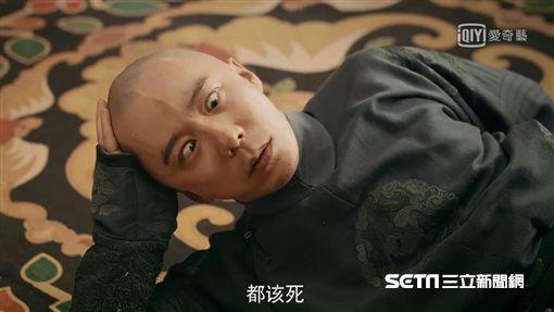 《延禧攻略》袁春望/太后。(愛奇藝台灣站提供)