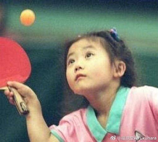 江宏傑,福原愛,女兒小小愛/翻攝自福原微博