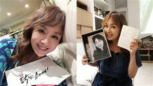 南韓女星朴海美合成圖翻攝自okhaemee IG