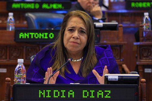執政黨FMLN(馬蒂民族解放陣線)的黨鞭迪亞茲(Nidia Díaz)/Nidia Díaz Twitter