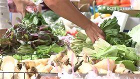 淹水效應! 地瓜葉漲6成 全雞下週恐破5百元,菜價,漲價,市場,買菜,賣菜