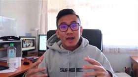 創業青年安迪.梅(Andy Mai)。(圖/翻攝自YouTube)