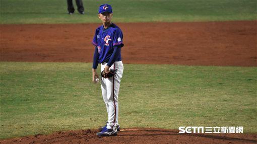 雅加達亞運中華棒球隊投手陳柏豪。(圖/記者王怡翔攝影)
