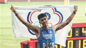 ▲相隔48年,陳奎儒在亞運幫台灣男子跨欄項目再度奪牌。(圖/中華奧會提供)