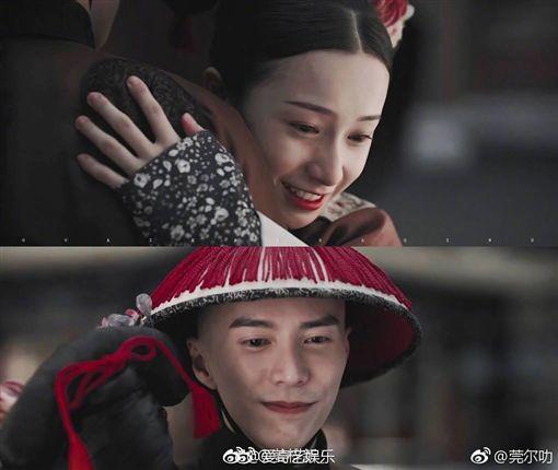 延禧攻略 海蘭察 明玉/翻攝自微博