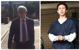 孫安佐及其辯護律師。