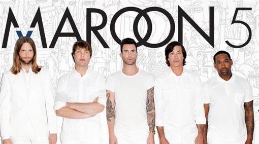 魔力紅(Maroon 5)/翻攝自魔力紅臉書