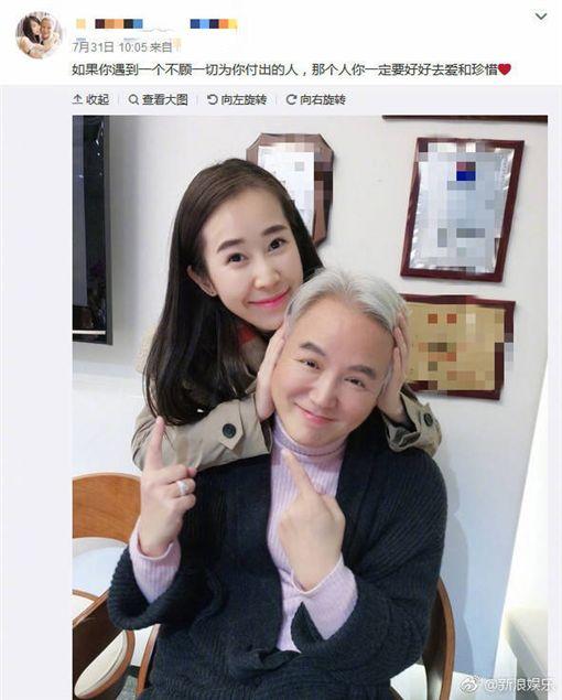 林瑞陽疑似偷吃事業妹妹/翻攝自微博