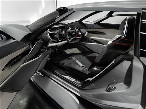 描繪次世代R8輪廓? Audi PB18 e-tron圖/車訊網