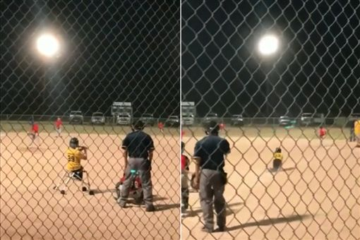 史上最催淚安打!殘疾童「爬」上一壘少棒,殘疾,勵志,棒球,安打https://rumble.com/embed/v2p49p/
