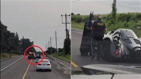 加拿大,蝙蝠俠,合照,攔檢,Stephen Lawrence 圖/翻攝自YouTube