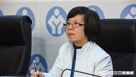 勞基法修正案三讀通過,勞動部次長蘇麗瓊出席記者會。 圖/記者林敬旻攝
