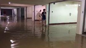 地下室淹慘1800