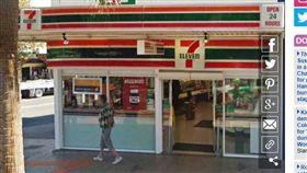 澳洲,搶劫,7-11,便利商店,打烊(圖/翻攝自Dailymail)