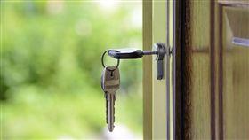 租房、租屋、鑰匙(圖/翻攝自Pixabay)