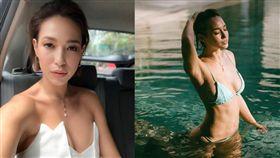 亨利・高汀的辣妻羅愛英來自台灣。(圖/翻攝自Liv Lo IG)