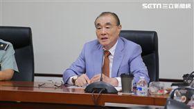 前國防部長馮世寬談惡搞元首照片案 軍聞社提供