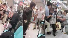 捷運,婦人,壓制,劃傷,刑大,亮刀,龍山寺,車廂,台北
